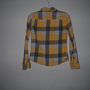 Tops - A&E plaid flannel type shirt small